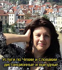 Услуги по Чехии и Словакии - дистанционные и выездные